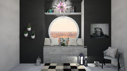 Reading corner - Modern - Bedroom  - by Agamanta