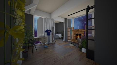 Bed room - Bedroom  - by Xxblue_romanxX