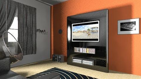 Home Cinema - Modern - by i_love_ducks