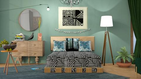 M_ MPB - Bedroom  - by milyca8