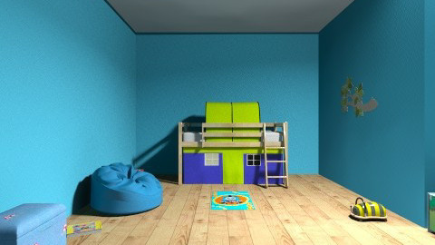 Little boys room  - Glamour - Kids room  - by hannah1122
