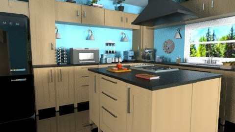 Modular Kitchen - Modern - Kitchen  - by Bibiche