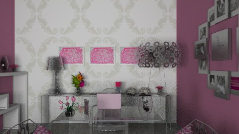 home office - Modern - Office  - by Paulina Triantafyllou