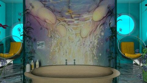 mermaids bath - Bathroom  - by Mum Dali
