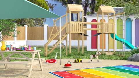 Play Space - Garden  - by LB1981