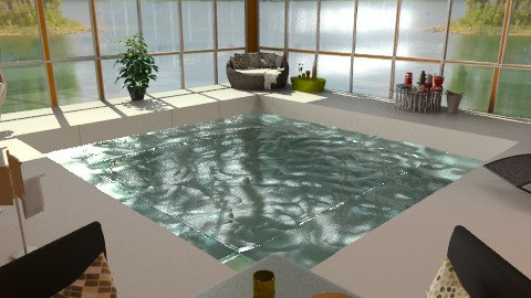 Indoor Pool (try 2) - Modern - Garden  - by idesine