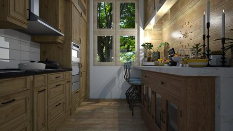 Compact - Kitchen - by Maria Helena_215