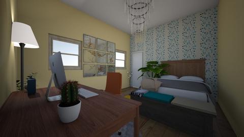 Social Studies - Bedroom  - by chloekoch