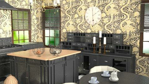 Cotswolds Kitchen AGAIN - Classic - Kitchen  - by toadfool
