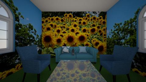 sunflower room - Classic - Living room  - by heatherpc