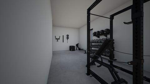 Shed Gym - by rogue_e09f495bd2580abd9e0f31b617948