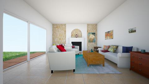 Mediteranean - Living room - by Larise