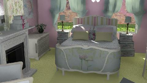 Bedroom - Sweet Dreams - Kids room  - by Theadora