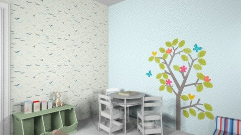 oranit play room 0 - Eclectic - Kids room - by adigallay
