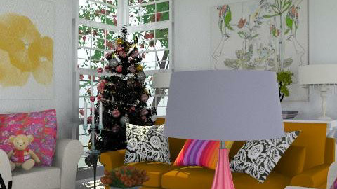 Christmas Zing - Eclectic - Living room  - by Patrick Mallaley