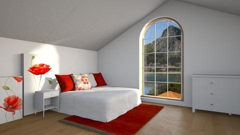 poppy - Bedroom - by anjaam