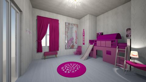 Lexy Valle - Kids room  - by lexyvalle