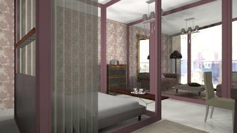 C plus M - Eclectic - Bedroom  - by mrschicken