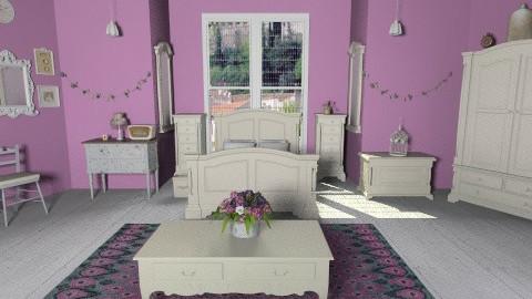 Lilac - Feminine - Bedroom - by Ren707