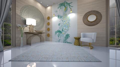 azul - Living room - by ana111
