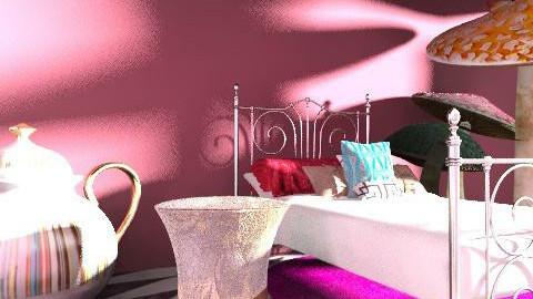 Wonderland - Vintage - Bedroom  - by emilypinnock