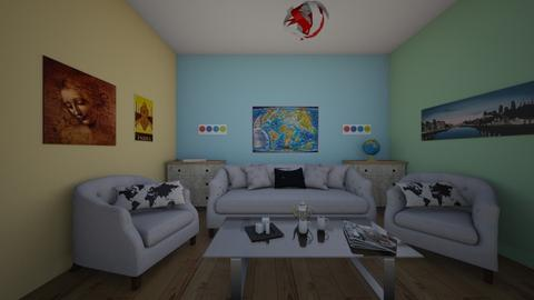 I Travelled The World - Living room  - by IDontSayBlaBlaBla
