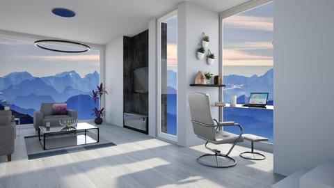 mountain view - Living room - by cel5596_7