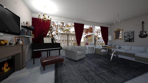 old style - Living room - by anaclaraalvesjianelli