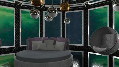flight in the night  - Eclectic - Bedroom  - by chania