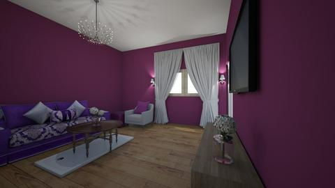 Purple - Living room  - by Natalie_2021