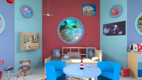 Young sailor room - Kids room  - by Orionaute