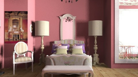 oh lala - Country - Bedroom  - by trees designs