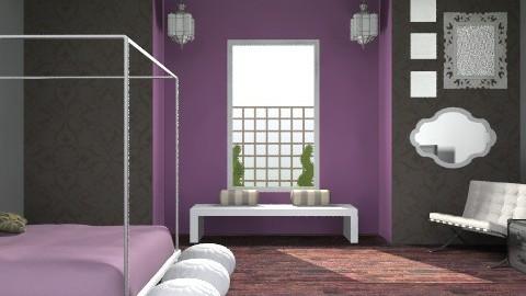 Purple Relaxation - Modern - Bedroom - by shotzydog
