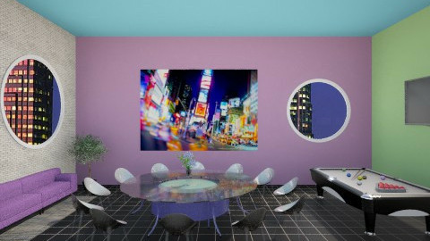 Office Inspired lounge - Office - by wanderingpsychonaut