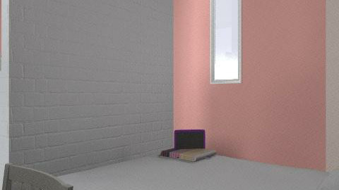 pink studednt flat (no kitchen) - Glamour - by jess_evans