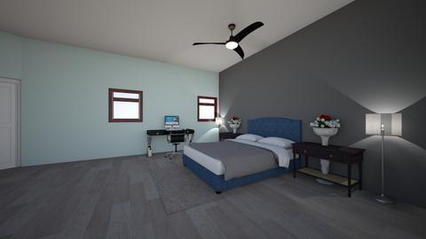 my room  - Modern - Bedroom  - by ChrisaMartinez3