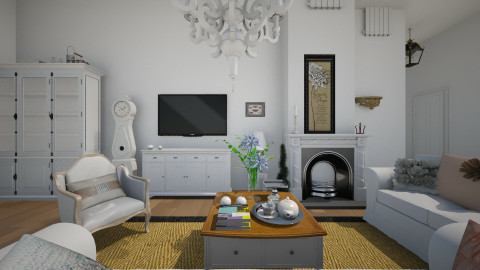 Harmony - Rustic - Living room  - by sissybee