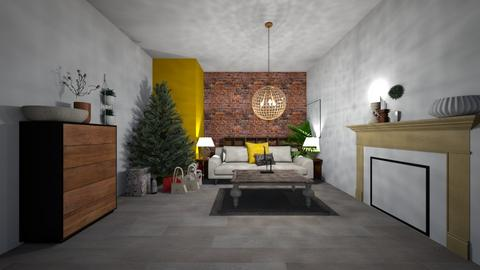 Christmas Room  - Classic - Living room  - by pop_up34