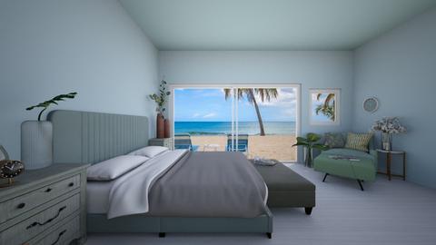 beach bedroom - by Mila dimitrova
