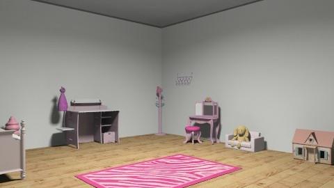 girl room - Minimal - Bedroom - by emigeorge