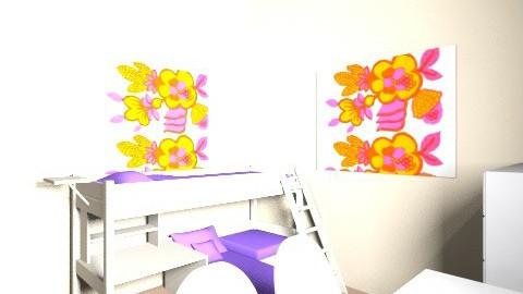 Vaiku kambarys antras b - Classic - Kids room  - by ritauskaite