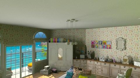 16 - Vintage - Bedroom  - by Ivana J