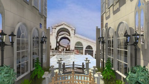 Venice - Rustic - Garden  - by milyca8