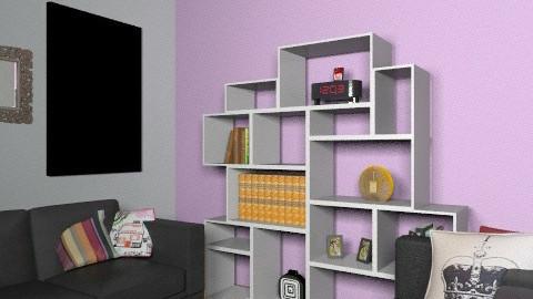 purple scent of love - Glamour - Living room  - by nursafa