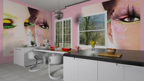Colours Up - Minimal - Kitchen  - by Simphiwe Swaze Simelane
