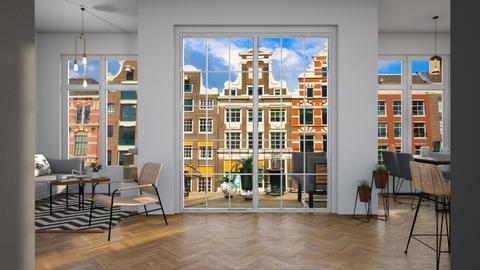 Scandinavian apt  - Modern - Living room  - by martinabb