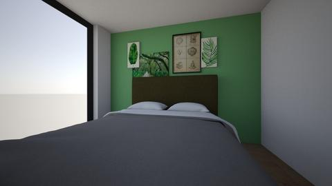 upstairs - Bedroom  - by ppint