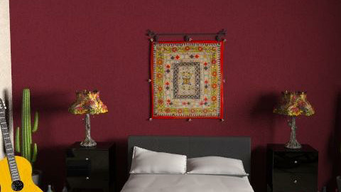 Southwestern Flair - Rustic - Bedroom  - by achu1402