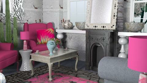 Strawberry Margarita - Eclectic - Living room  - by hunny