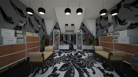 1st closet - Glamour - by kla